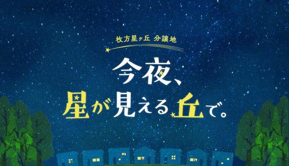 今夜、星が見える丘で。